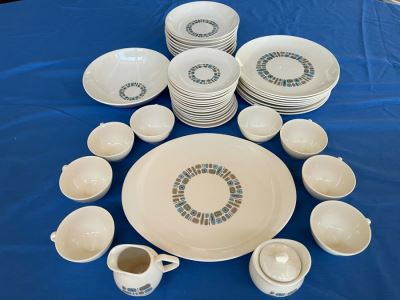 Vintage Mid-Century Canonsburg Pottery Temporama Pattern