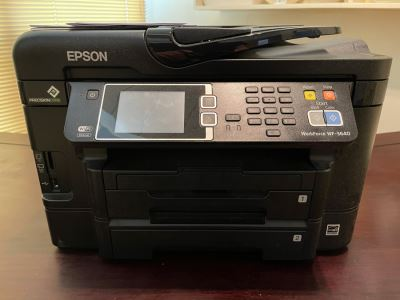 JUST ADDED - EPSON WorkForce WF-3649 All-In-One Printer