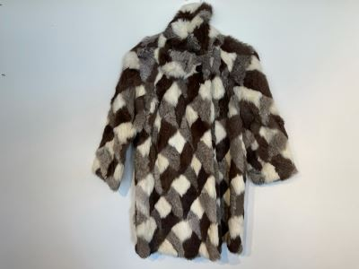 JUST ADDED - Vintage Women's Fur Jacket Size 30 S