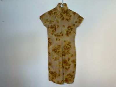 JUST ADDED - Vintage Chinese Women's Dress Size S