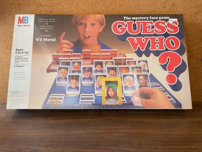 JUST ADDED - Sealed Vintage 1987 Milton Bradley Game Guess Who?
