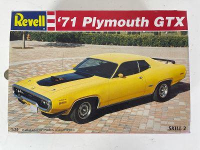 Revell 1971 Plymouth GTX Car Model Kit 1995