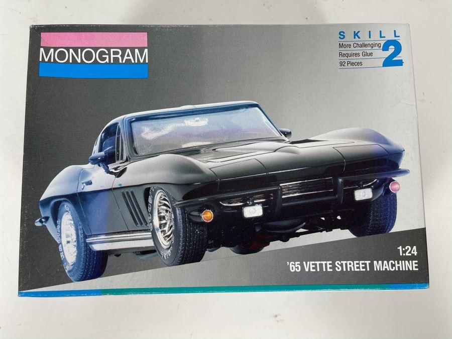 Monogram 1965 Vette Street Machine Car Model 1991