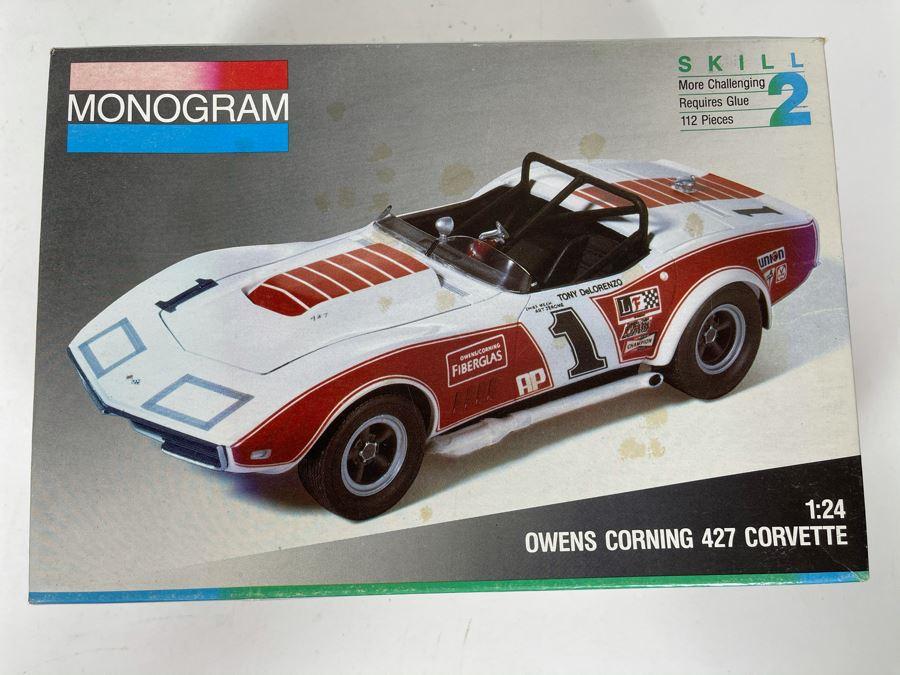 Monogram Owens Corning 427 Corvette Car Model 1991
