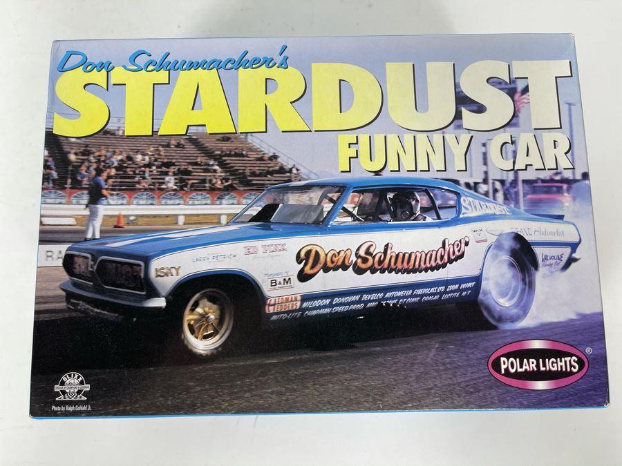 Polar Lights Don Schumacher's Stardust Funny Car Model Kit 1999