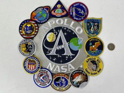 Large Apollo NASA Patch