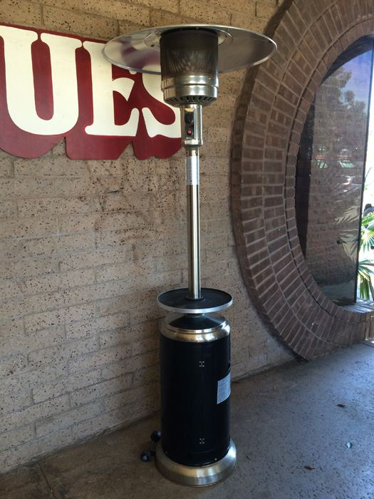 Tall Propane Patio Heater Outdoor With 2 Propane Tanks