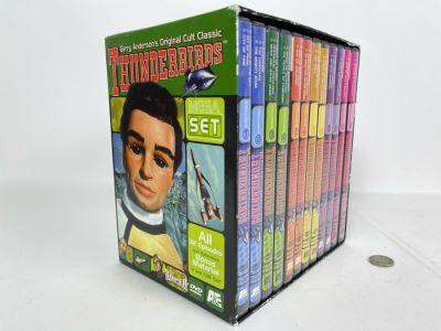 Gerry Anderson's Original Cult Classic Thunderbirds MEGA DVDs Set All 32 Episodes