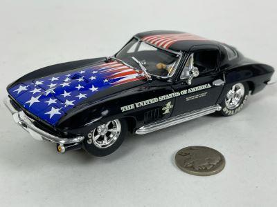 Carrera Evolution The United States Of America Corvette Sting Ray Slot Car