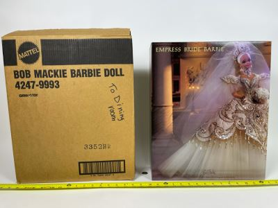 Empress Bride Barbie Doll By Bob Mackie Fifth In The Bob Mackie Barbie Collection New In Box Mattel 1992