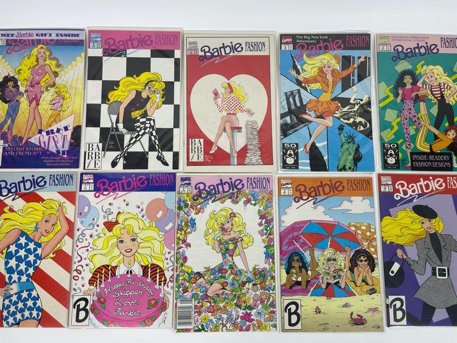 (10) Barbie Fashion Comic Books - Marvel Comics #1 - #10