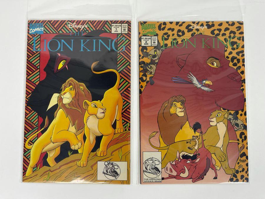 Disney's Lion King Comic Books - Marvel Comics #1 & #2