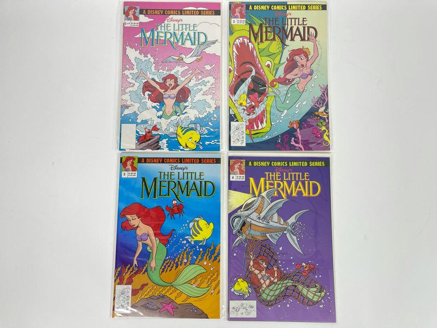 Disney's The Little Mermaid Comic Books #1 - #4
