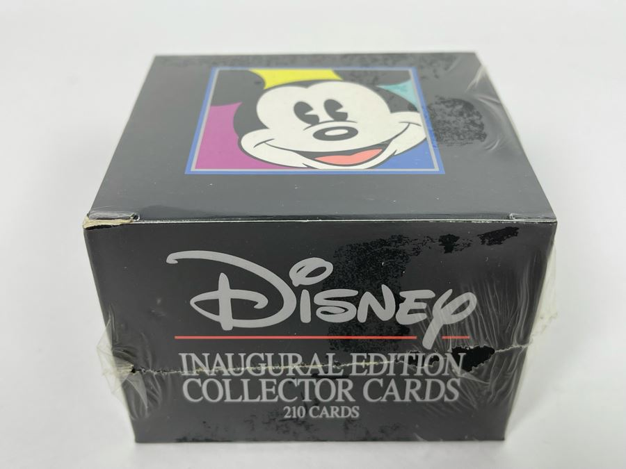 Sealed Disney Inaugural Edition Collector Cards 210 Cards Skybox