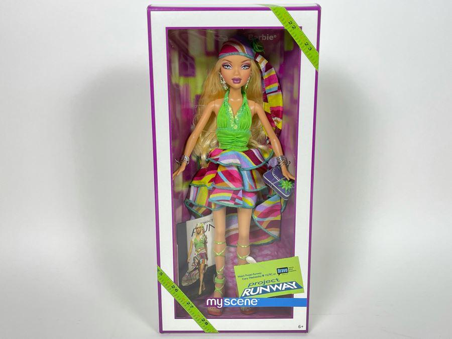 Barbie Bravo Project Runway My Scene Nick Verreos New In Box Doll Mattel 2006