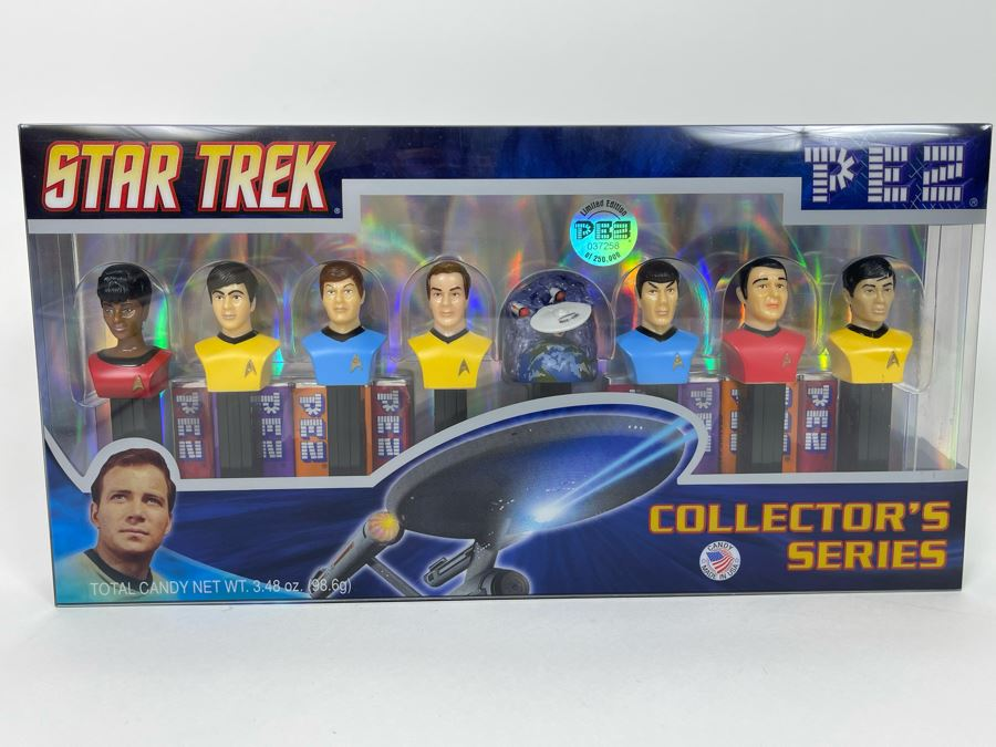 Star Trek PEZ Collector's Series Limited Edition New In Box 2008 [Photo 1]
