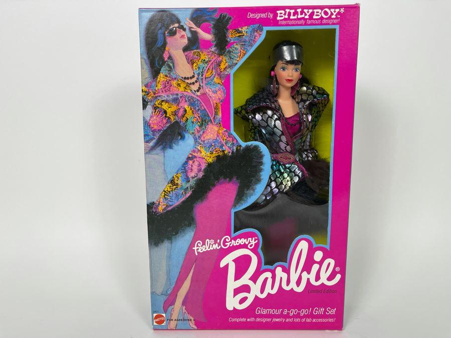 Barbie Feelin' Groovy Designed By Billy Boy Limited Edition Dol New In Box Mattel 1986