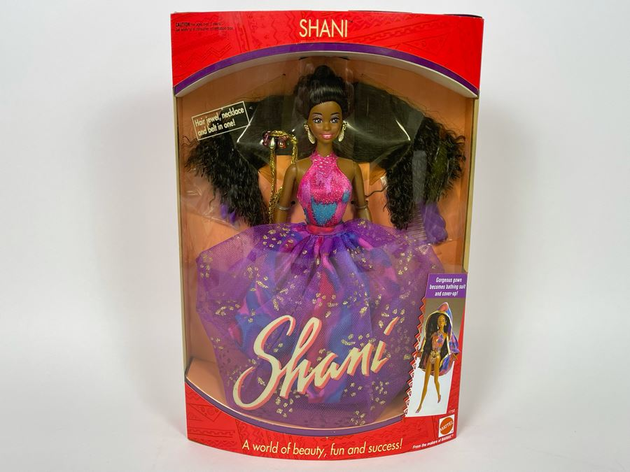 Shani Barbie New In Box Mattel 1991 [Photo 1]