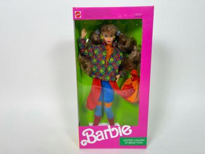 Teresa Barbie United Colors Of Benetton New In Box Doll Mattel 1990