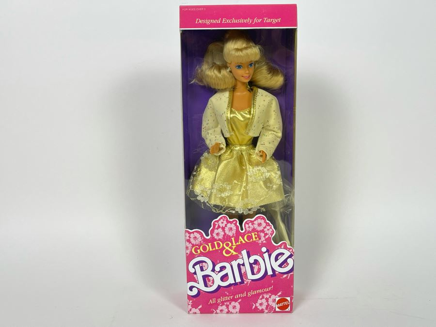 Gold & Lace Barbie New In Box Doll Mattel 1989 [Photo 1]