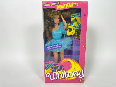 Style Magic Whitney WondraCurl Hair Barbie New In Box Doll Mattel 1988
