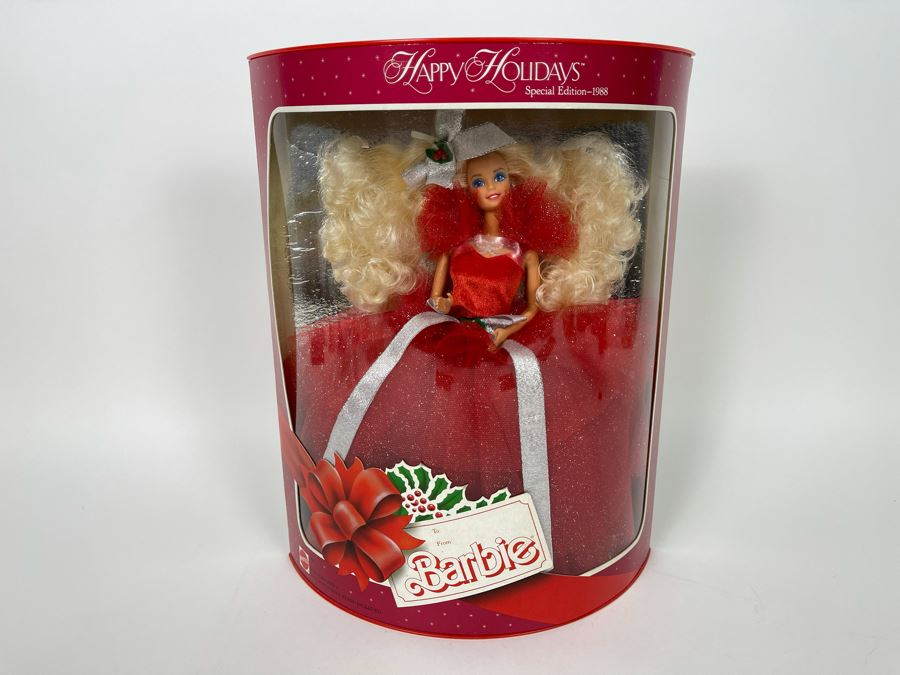 Happy Holidays Special Edition Barbie New In Box Doll Mattel 1988