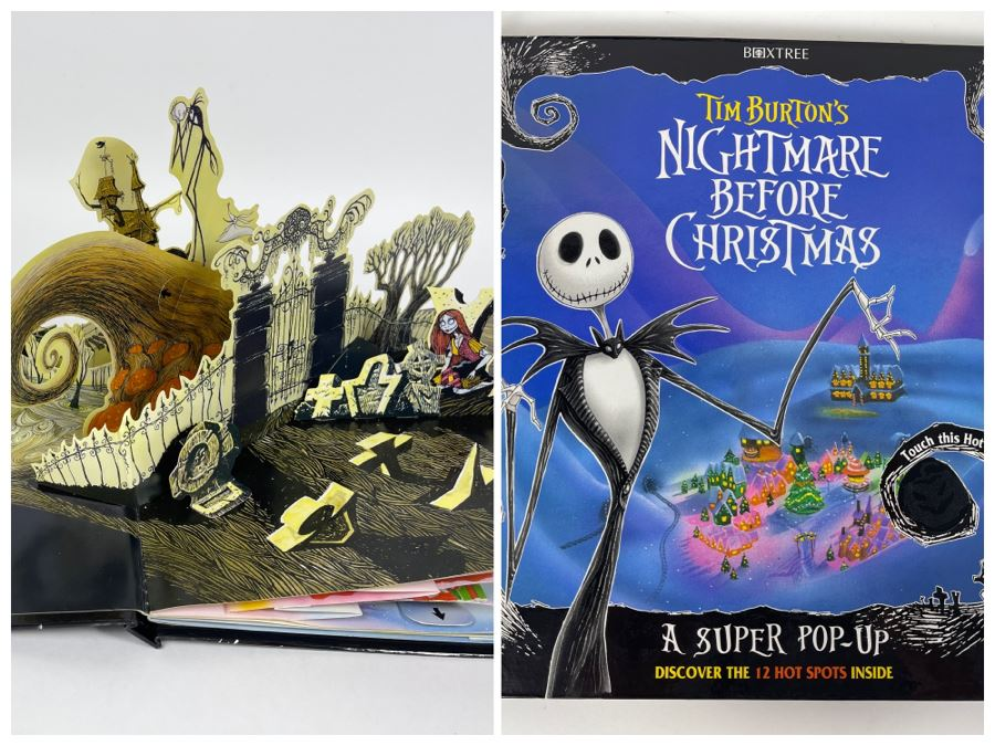 Tim Burton's The Nightmare Before Christmas Super Pop-Up Book