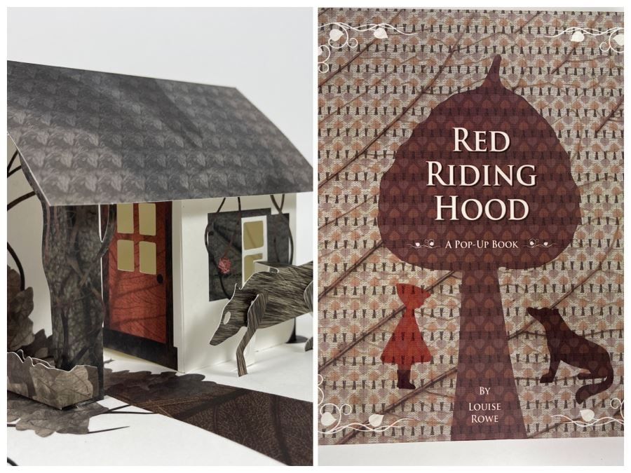 Red Riding Hood Pop-Up Book By Louise Rowe