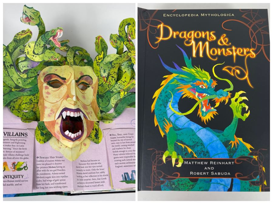 Dragons & Monsters Pop-Up Book