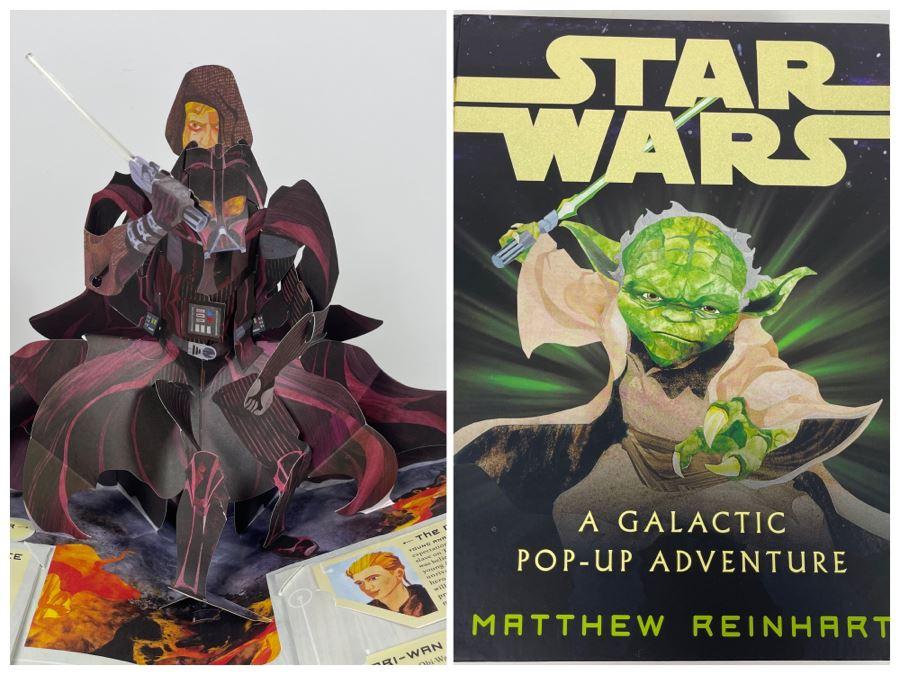 Star Wars A Galactic Pop-Up Adventure Book