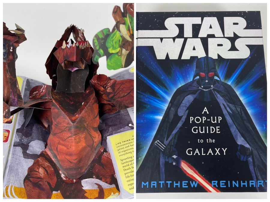 Star Wars A Pop-Up Guide To The Galaxy Book