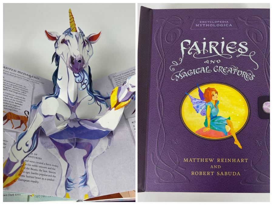 Fairies And Magical Creatures Pop-up Book