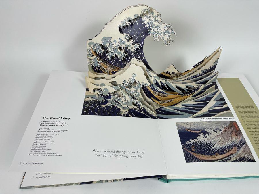 Hokusai Pop-Up Book