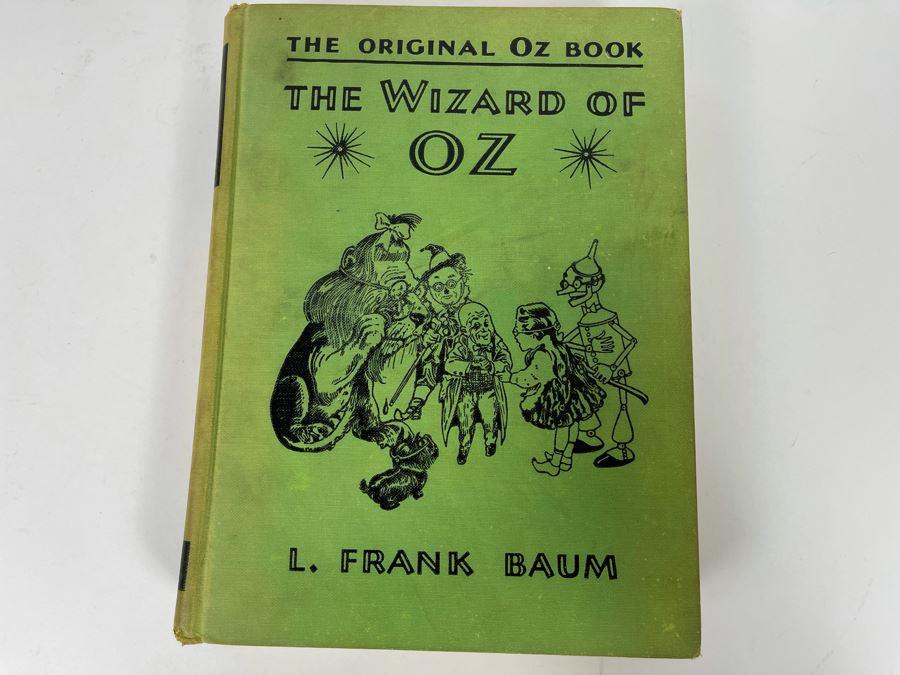 The Original Oz Book The Wizard Of Oz By L. Frank Baum 1903