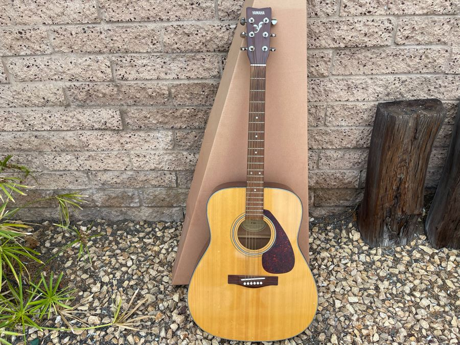 JUST ADDED - Yamaha Acoustic Steel String Guitar Model F-325 With Box