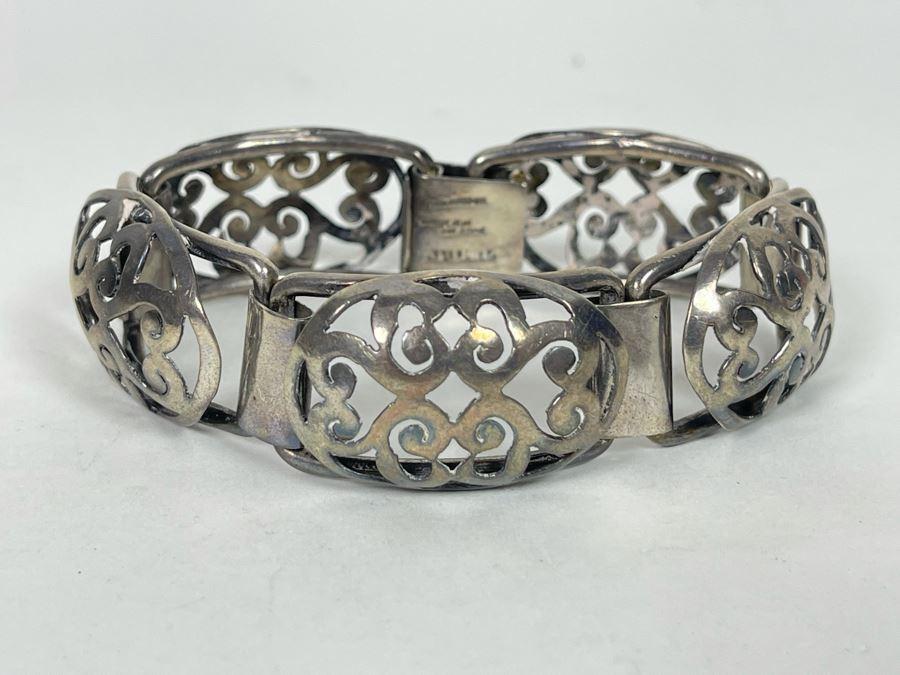 JUST ADDED - Sterling Silver Handmade Bracelet 7L 47g