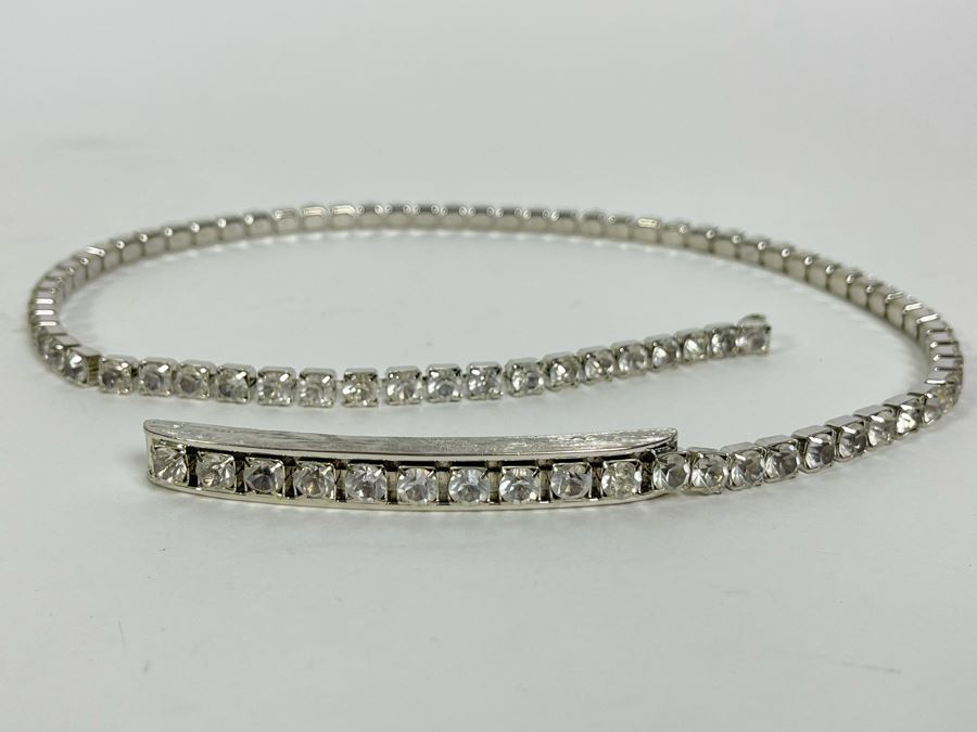 Judith Leiber Swarovski Crystal Belt 25L