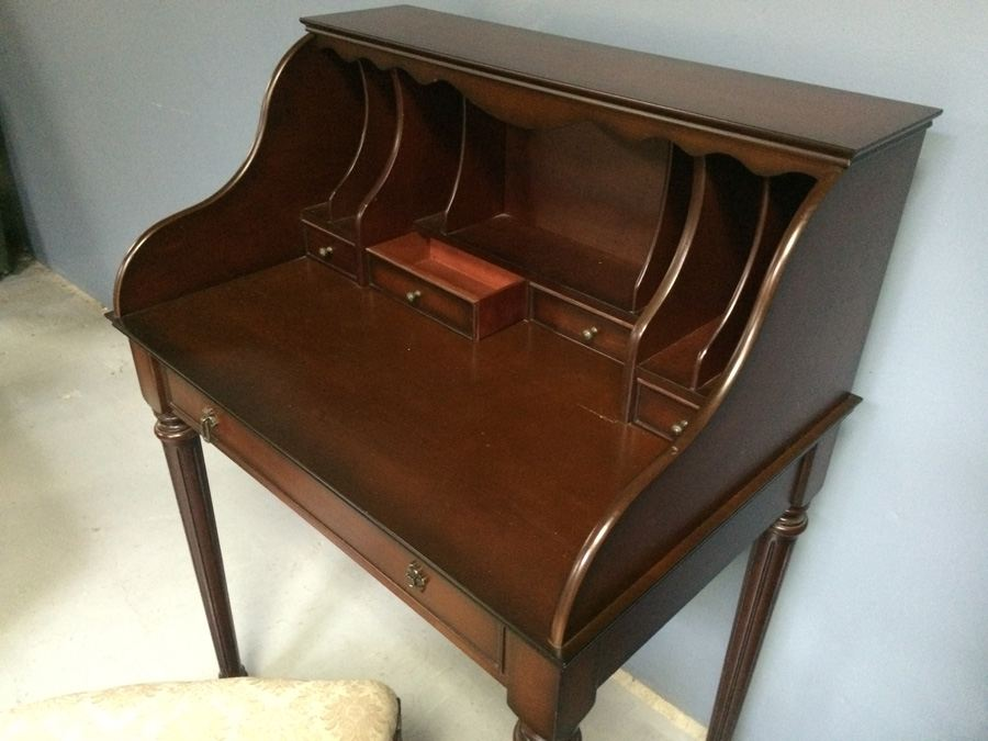 Bombay Secretary Desk With Chair