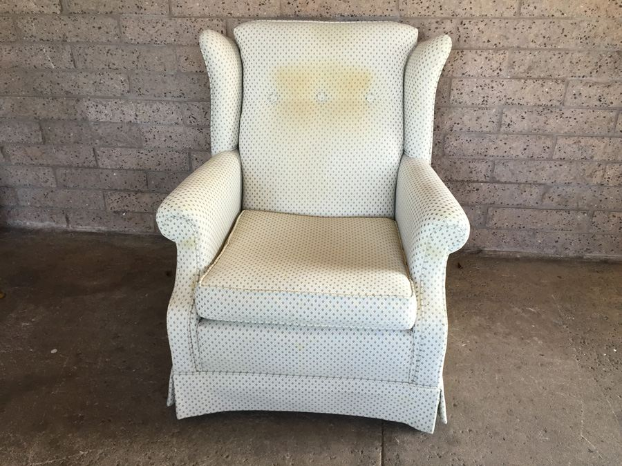 Vintage Ethan Allen Wingback Chair [Photo 1]