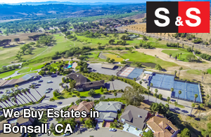 We are Bonsall Estate Buyers