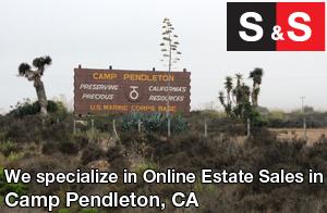 We are Camp Pendleton Estate Liquidators. We specialize in Online Estate Sales In Camp Pendleton.