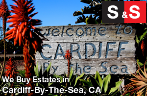 We are Cardiff By The Sea Estate Buyers