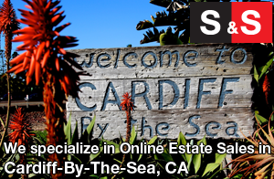 We are Cardiff By The Sea Estate Liquidators. We specialize in Online Estate Sales In Cardiff By The Sea.