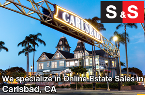 We are Carlsbad Estate Liquidators. We specialize in Online Estate Sales In Carlsbad.