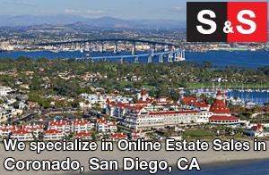We are Coronado Estate Liquidators. We specialize in Online Estate Sales In Coronado.