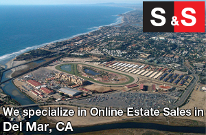 We are Del Mar Estate Liquidators. We specialize in Online Estate Sales In Del Mar.