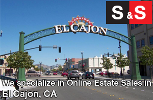 We are El Cajon Estate Liquidators. We specialize in Online Estate Sales In El Cajon.