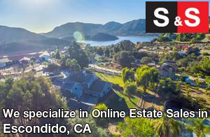 We are Escondido Estate Liquidators. We specialize in Online Estate Sales In Escondido.