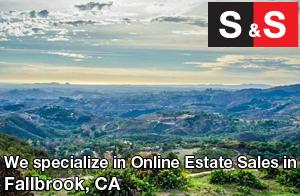We are Fallbrook Estate Liquidators. We specialize in Online Estate Sales In Fallbrook.