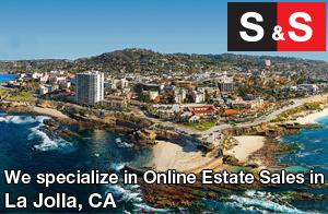 We are La Jolla Estate Liquidators. We specialize in Online Estate Sales In La Jolla.